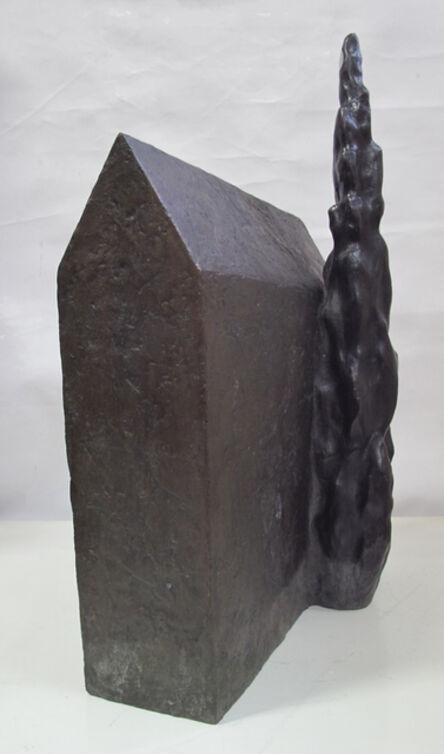 Sergio Niculitcheff, 'Sem Título (casa com cipreste)', 2005