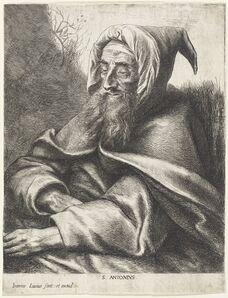 Jan Lievens, 'Saint Anthony'