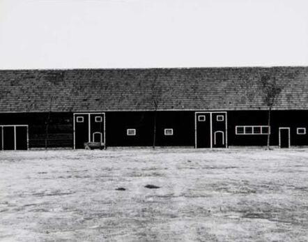 William Klein, 'Mondrian Barn 4', 1949
