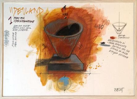 Fabrizio Plessi, 'Videoland II', 1987