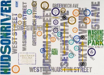 Alan Kitching FRCA RDI, 'West Greenwich Village', 2013
