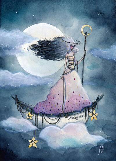 June Leeloo, ''La passeuse de pluie''