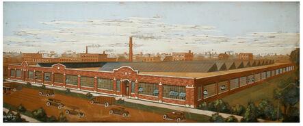 Unknown Artist, 'Industrial Factory Landscape', ca. 1929