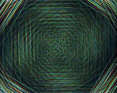 Niko Luoma, 'Hexagon Variation #1', 2010