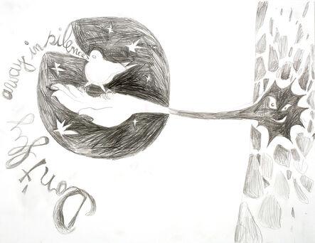 Bendix Harms, 'IST ES DENN EIN VOGELLIED, 5.10.2011-1', 2011