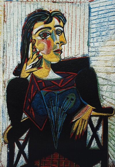 Vik Muniz, 'Dora Maar, After Picasso (From Pictures of Pigment)', 2007