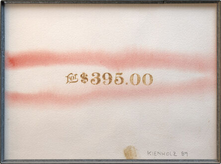 Edward Kienholz, 'For $395', 1989