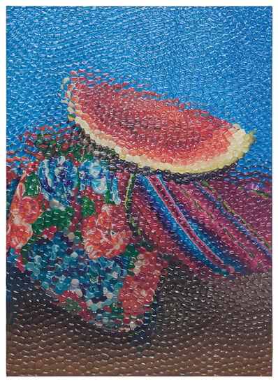 Ana Elisa Egreja, 'Natureza morta com melancia', 2016
