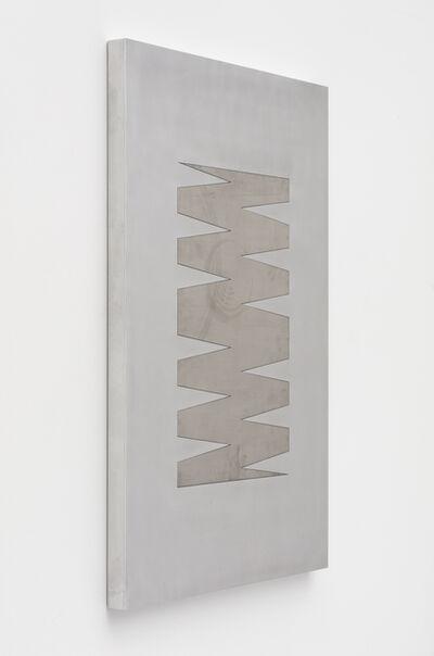 Zak Kitnick, '24 Month Calendar 3 (Mill Stainless)', 2020