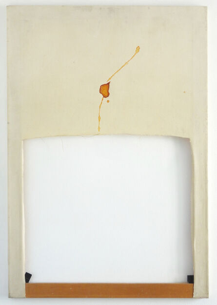 Eduardo Costa, 'Semen painting 2: shape of an ejaculation', 1985
