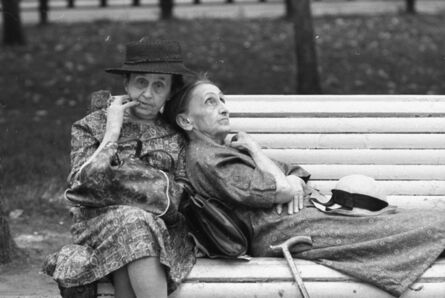 Andrey Knyazev, 'A bench from out of youth', 1970