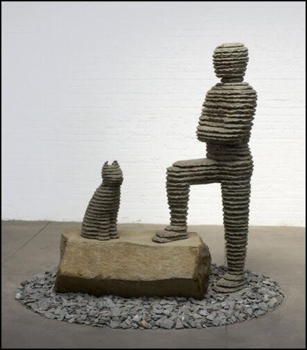 Boaz Vaadia, 'Yizhaq with Cat', 2009