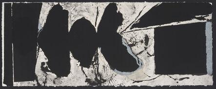 Robert Motherwell, 'Elegy Black Book', 1983