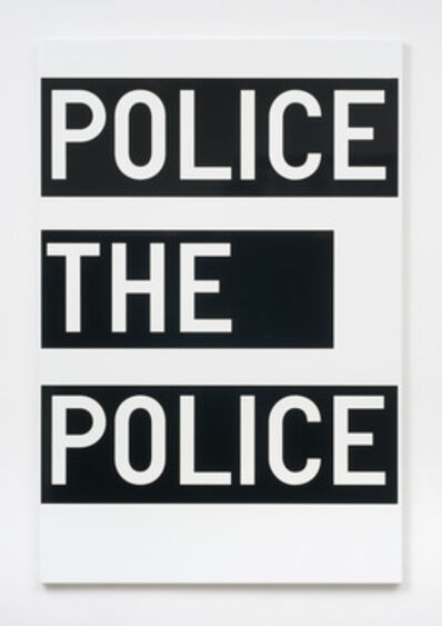 Rirkrit Tiravanija, 'untitled (police the police)', 2011