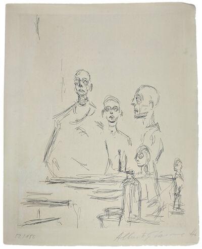 Alberto Giacometti, 'SCULPTURES DANS L'ATELIER', 1964