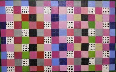 Caroline Blum, 'Squares and Dots (diptych)', 2016