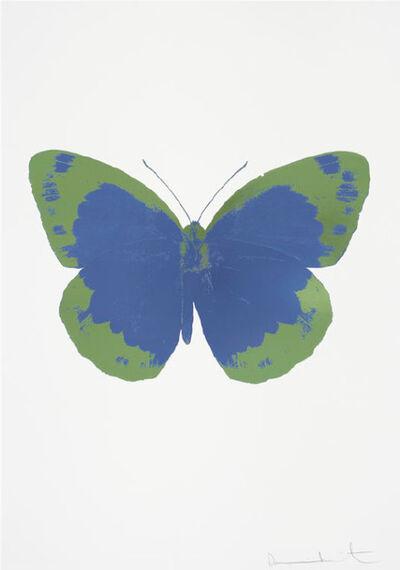 Damien Hirst, 'Frost Blue – The Souls II – Frost Blue - Leaf Green', 2010