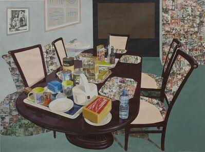 Njideka Akunyili Crosby, 'Tea Time in New Haven Enugu', 2014