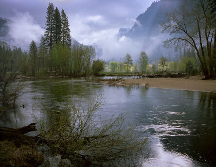 David G. Peterson, 'Clearing Spring Storm, Yosemite Valley (framed)', 2004