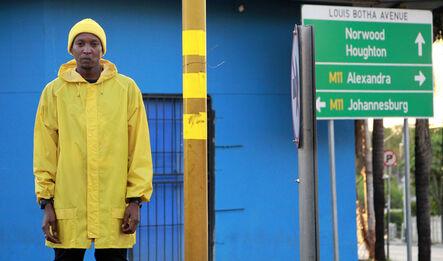 Thusi Vukani & Sparks Napoli, 'Eskhaleni: In the Space (Yellow Jacket)', 2019