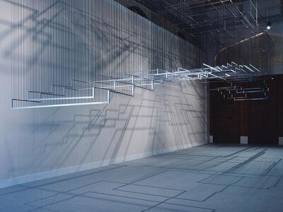 Nadia Kaabi-Linke, 'Flying carpets', 2011