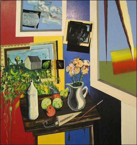 Peter Nadin, 'Still life with Figs and Flowers', 1989