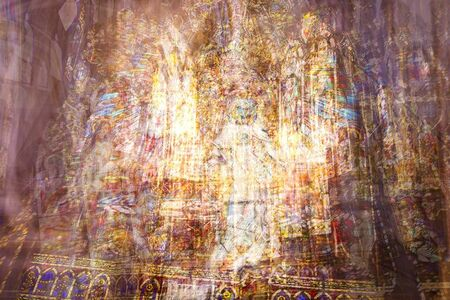 Bill Anderson (b. 1952), 'Cathedral Interior', 2013