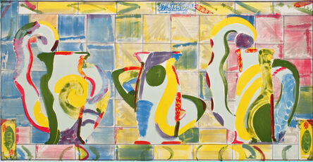 Betty Woodman, 'On the Way to India', 1988