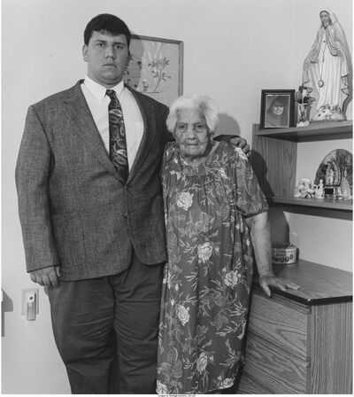 Milton Rogovin, 'A Group of Three Photographs of a Mother and Son'