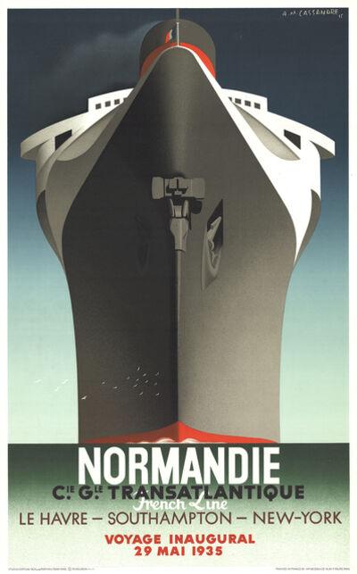 A.M. Cassandre, 'Normandie', 1979