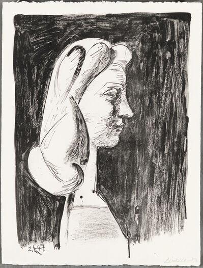 Pablo Picasso, 'GRAND PROFIL (Large Profile)', 1947