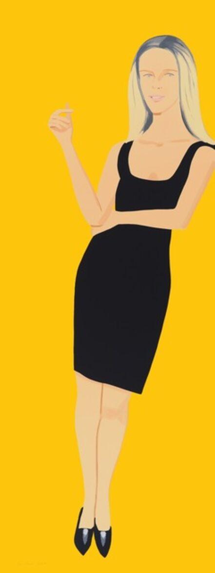 Alex Katz, 'Black Dress - Yvonne', 2015