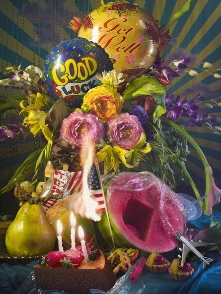 David LaChapelle, 'America Flower', 2011