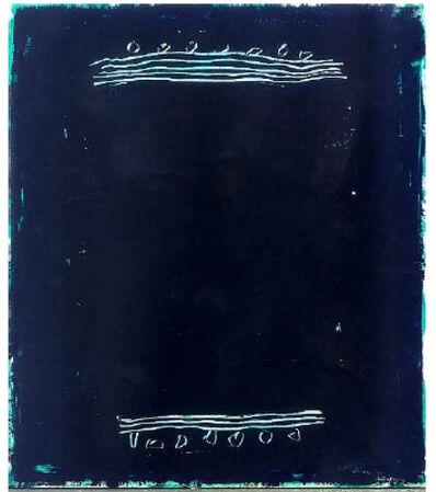 Joan Hernández Pijuan, 'Paisatge negre', 2003
