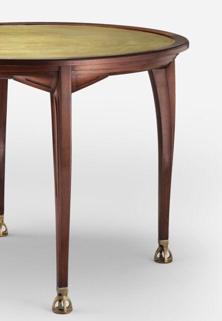 Henry van de Velde, 'Round table', 1904