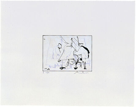 Robert Motherwell, 'Untitled (State I)', 1977