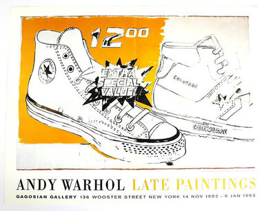 Andy Warhol, 'Vintage Andy Warhol Exhibit Poster', 1992