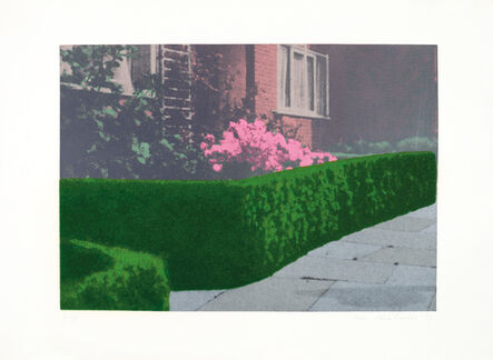 Ivor Abrahams, 'Privacy Plot - Cottage and Hedge', 1970