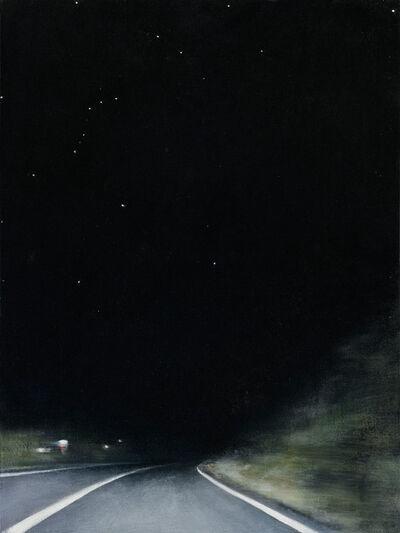 Linda Davidson, 'Night Road 1', 2015