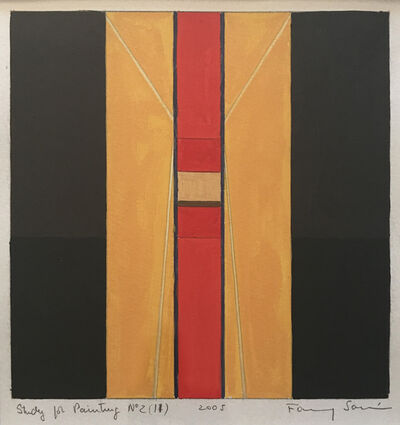 Fanny Sanin, 'Study for a painting No. 2 (11)', 2005