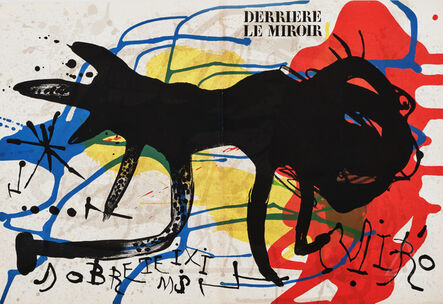 Joan Miró, 'Sobreteixims from Derriere le Miroir Cover', 1973