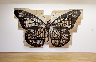 Andrea Bowers, 'Education not Deportation', 2014