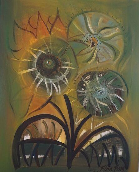 Flora Fong, 'Tres Girasoles / Three Sunflowers', 2012