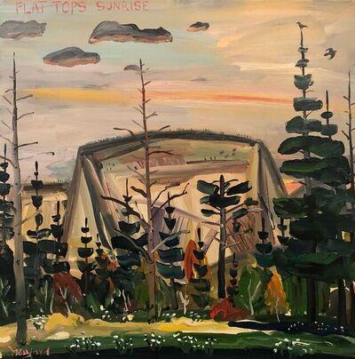 Bayard Hollins, 'Flat Tops Sunrise', 2021