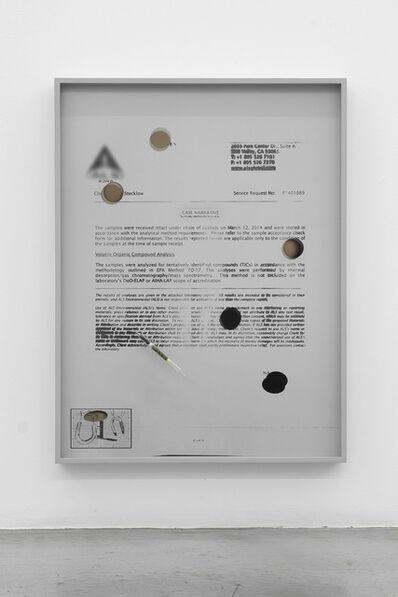 Jesse Stecklow, 'Untitled (Variant, Cast Narrative)', 2014
