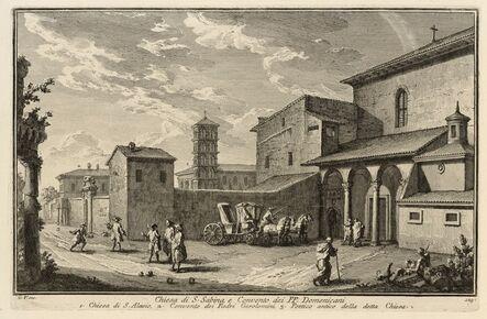 Giuseppe Vasi, 'Chiesa di S. Sabina, e Convento dei PP. Domenicani', 1747-1801