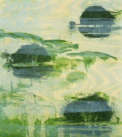 Michael Mazur, 'Gail's Islands 1', 2008
