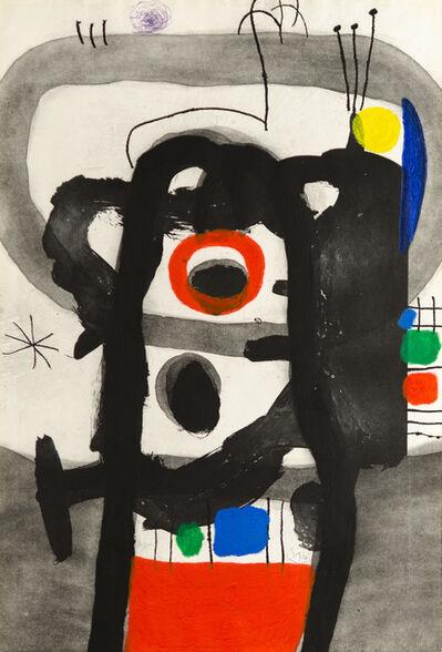 Joan Miró, 'L'ENRAGÉ (The Angry One)', 1967