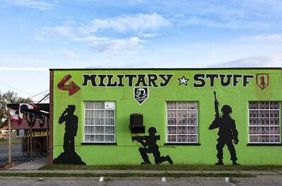 Joel Morgovsky, 'Military Stuff, Junction City, KS'