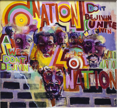 Gerald Williams, 'Nation Time', 1969